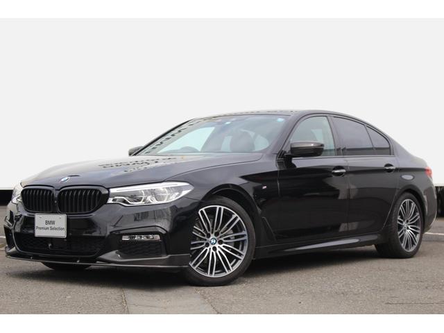 BMW 523d Mスポーツ デビューPKG ワンオーナー 黒革