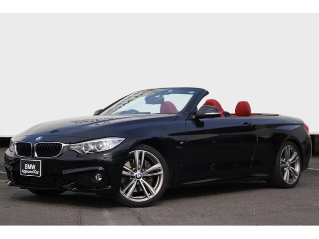 BMW 435iカブリオレ Mスポーツ コーラルレッドレザー