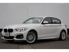 BMW118d Mスポーツ 黒革 ACC I−Drive Bカメラ