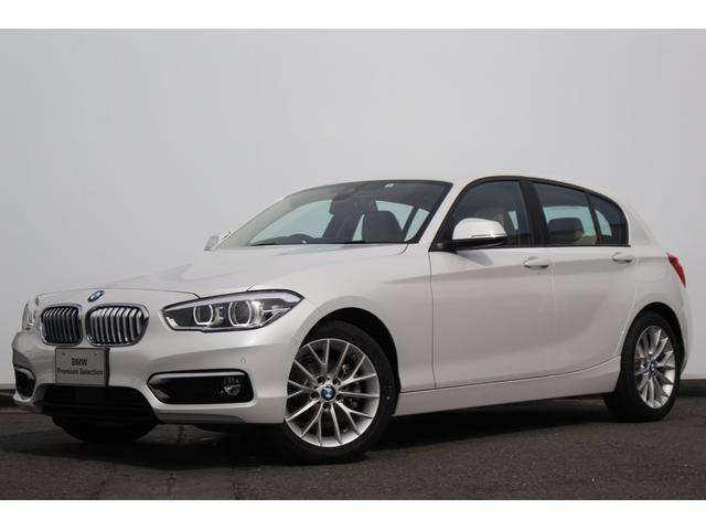 BMW 118d ファッショニスタ オイスターレザー ACC LED