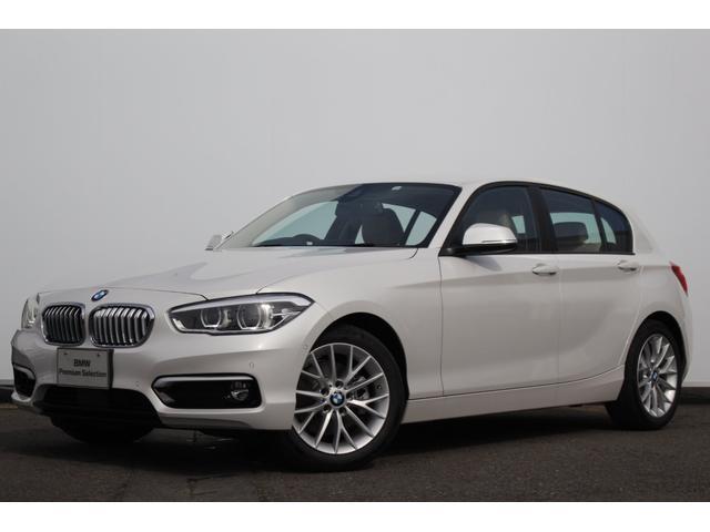 BMW 118i ファッショニスタ オイスターレザー ACC LED