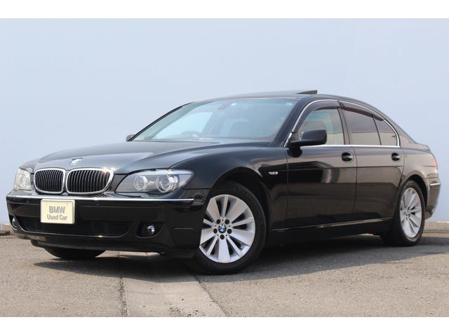 BMW 740i 黒革 Fコンフォートシート ソフトクローズ SR