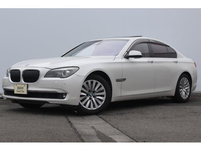 BMW 750i コンフォートPKG 左H 黒革ガラスSR 18AW
