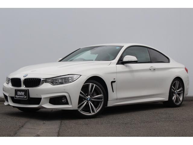 BMW 435iクーペ Mスポーツ 黒革 LEDライト 純正19AW
