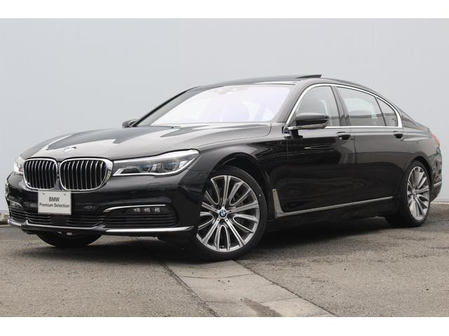 BMW 750Li 黒革 レーザーライト パノラマSR 純正20AW