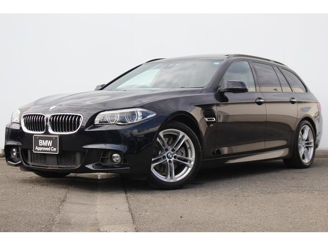 BMW 528iツーリング Mスポーツ 黒革 パノラマSR LED