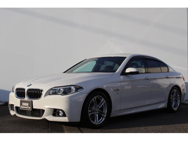 BMW 528i Mスポーツ 左H 黒革 液晶メーター ガラスSR