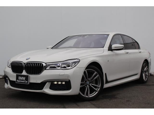 BMW 740i Mスポーツ 弊社販売ワンオーナー ガラスサンルーフ