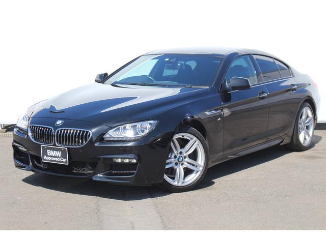 BMW 640iグランクーペ Mスポーツ黒革アダプティブLEDライト