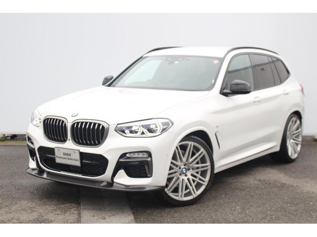 BMW X3 xDrive 20d Mスポーツ 社外22AW ブラックキドニー パフォーマンスFリップ 社外ドラレコ ブラックドアミラーカバー 純正19AWスタッドレス付