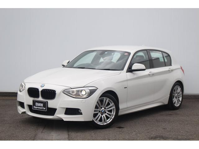 BMW 116i Mスポーツ ワンオーナー・I-driveナビゲーション・社外ETC・純正17AW