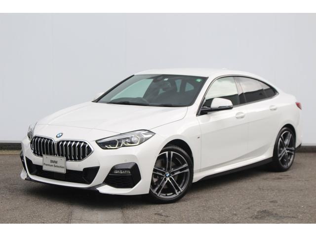 BMW 218iグランクーペ Mスポーツ 7速DCT・I-driveナビ・リヤカメラ・前後PDC・運転席パワーシート・コンフォートアクセス・被害軽減ブレーキ・車線逸脱警告・ACCストップ&ゴー・純正ETCミラー・純正18AW