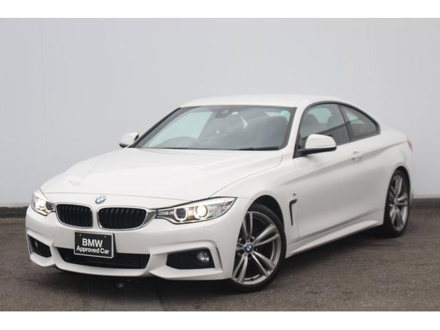 BMW 420iクーペ Mスポーツ ワンオーナー・ブラックレザー・コンフォートA・Fシートヒーター・リヤPDC・リヤカメラ・キセノン・被害軽減ブレーキ・車線逸脱警告・オートクルーズ・社外地デジTV・純正19AW