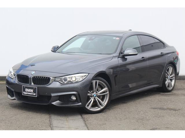 BMW 435iグランクーペ Mスポーツ ブラックレザーシート・ガラスサンルーフ・ACC・HUD・HIFIスピーカー・純正19AW