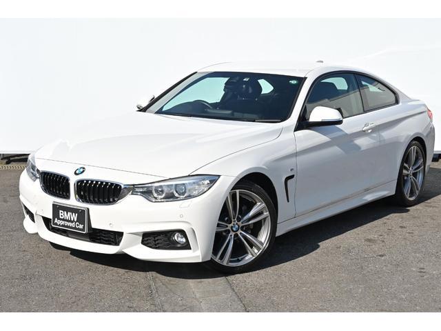 BMW 4シリーズ 428iクーペ Mスポーツ ワンオーナー・被害軽減ブレーキ・車線逸脱警告・ACC・コンフォートアクセス・前後PDC・HUD・純正地デジTV・純正19AW