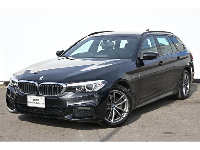 BMW 523d xDriveツーリングMスピハイラインP ブラックレザー・前後シートヒーター・LEDライト・HUD・HIFIスピーカー・ハイラインPKG・純正18AW