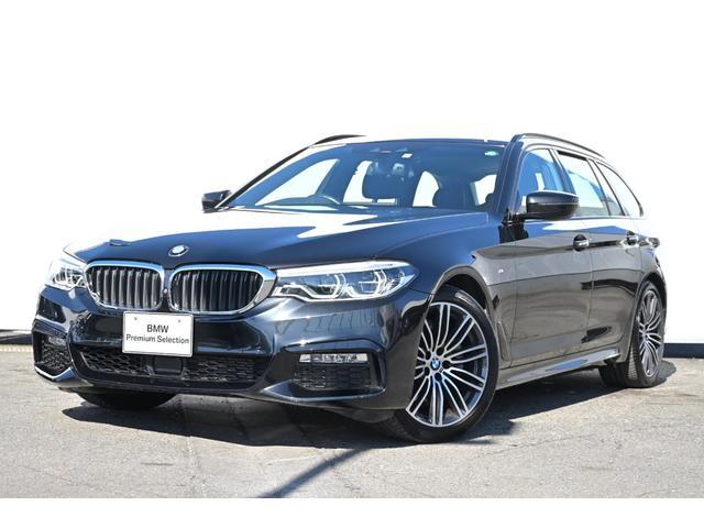 BMW 523dツーリング Mスポーツ パノラマサンルーフ・アダプティブLEDライト・harman kardon・HUD・純正TV・オートトランク・純正19AW