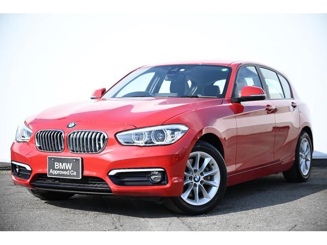 BMW 1シリーズ 118d スタイル 被害軽減ブレーキ・車線逸脱警告・LEDライト・I-Driveナビ・リヤカメラ・リヤPDC・オートクルーズ・純正ETCミラー・純正16AW