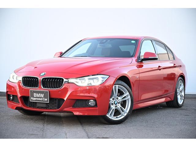 BMW 320d Mスポーツ ブラックレザー・Fシートヒーター・前後PDC・レーンチェンジW・ACC・純正18AW
