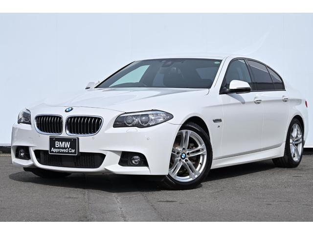 BMW 5シリーズ 523d Mスポーツ 被害軽減ブレーキ・車線逸脱警告・レーンチェンジワーニング・ACC・コンフォートアクセス・リヤカメラ・前後PDC・純正TV・HIFIスピーカー・純正18AW