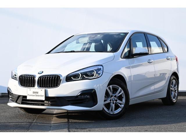 BMW 218iアクティブツアラー 7速DCT・被害軽減ブレーキ・車線逸脱警告・I-driveナビ・LEDライト・純正ETCミラー・純正16AW