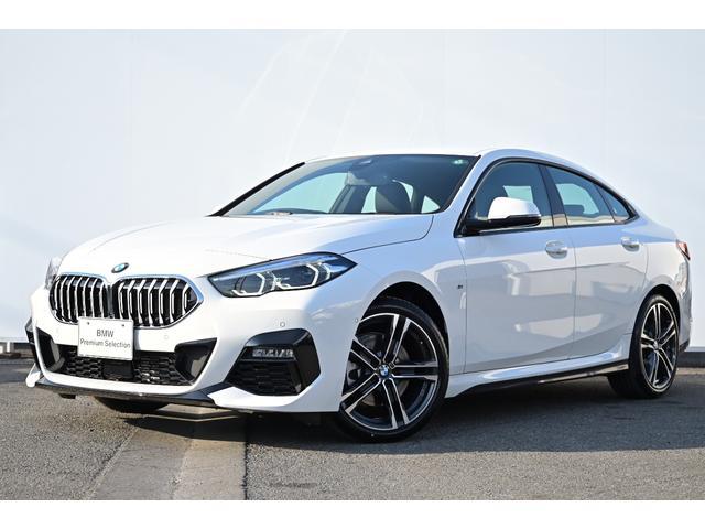 BMW 218dグランクーペ Mスポーツエディションジョイ+ ワンオーナー・I-driveナビ・リヤカメラ・前後PDC・コンフォートA・被害軽減ブレーキ・車線逸脱警告・ACC・運転席パワーシート・純正18AW