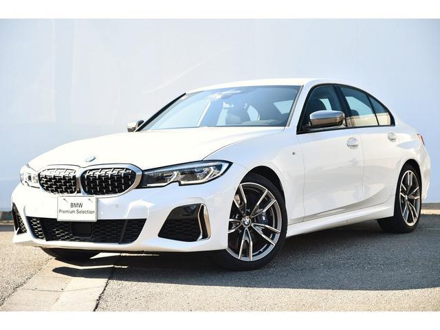 BMW M340i xDrive 希少左ハンドル・ブラックレザー・Mスポーツブレーキ・Mデフ・アダプティブMサス・Fシートヒーター・HUD・BMWレーザーライト・harman kardonジェスチャーコントロール地デジTV純正19AW