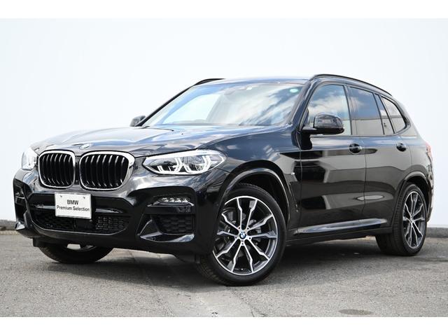 X3(BMW) xDrive 20d Mスポーツハイラインパッケージ ワンオーナー・ブラックレザー・前後シートヒータ 中古車画像