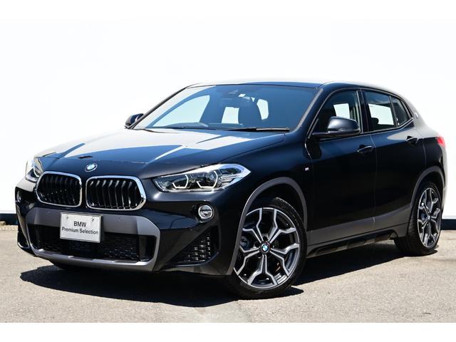 X2(BMW)xDrive 18d MスポーツX ハイラインパック ブラックレザー・コンフォートA・オートトランク・リヤカメラ・前後PDC・Fシートヒーター・Dアシスト+・ACC・HUD・アドバンストPKG・コンフォートPKG・ハイラインPKG・純正19AW 中古車画像