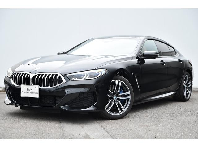 BMW 840d xDrive グランクーペ Mスポーツ ワンオーナー・コニャックレザー・前後シートヒーター・ソフトクローズドア・ディスプレーキー・パノラマサンルーフ・レーザーライト・harman kardon・純正19AW