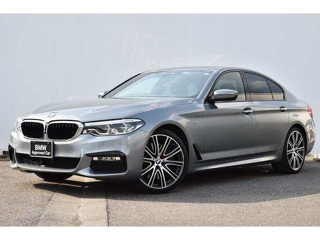 BMW 5シリーズ 540i Mスポーツ ワンオーナー・黒革・前後シートヒーター・アダプティブサス・Mスポーツブレーキ・アダプティブLED・Dアシスト+・TV・harman kardon・ガラスサンルーフ・社外ドラレコ・純正20AW