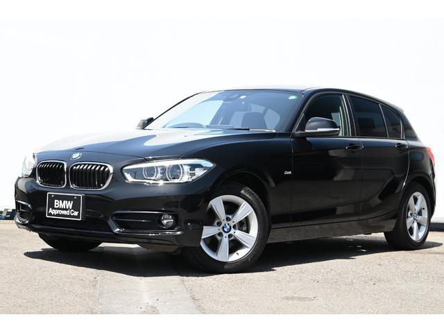 BMW 1シリーズ 118d スポーツ 被害軽減ブレーキ・車線逸脱警告・LEDライト・I-Driveナビ・リヤカメラ・リヤPDC・オートクルーズ・純正ETCミラー・純正16AW