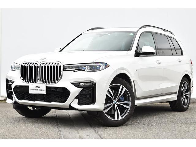 BMW xDrive 35d Mスポーツ ワンオーナー・7人・コーヒブラウンレザー・前後シートヒーター・ソフトクローズドア・Dアシストプロ・レーザーライト・HUD・パノラマサンルーフ・harmann kardon・純正21AW
