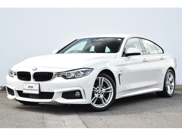 BMW 4シリーズ 420iグランクーペ Mスピリット 被害軽減ブレーキ・レーンチェンジワーニング・ACC・コンフォートアクセス・Fシートヒーター・前後PDC・リヤカメラ・純正TV・HIFIスピーカー・純正18AW