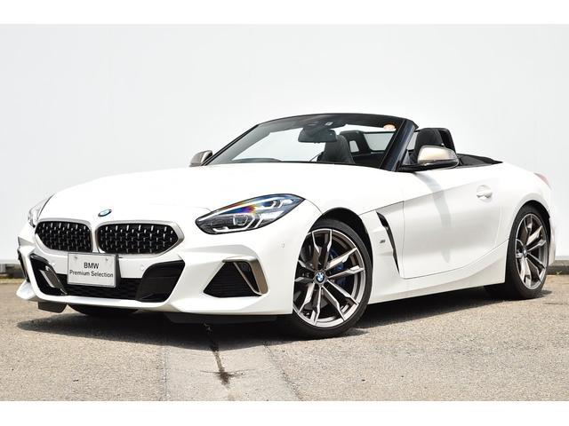 BMW Z4 M40i ワンオーナー・新エンジン・ブラックレザー・Mスポーツブレーキ/デフ・アダプティブLED・アダプティブMサス・Dアシスト・ACC・パークアシスト・TV・HUD・HIFIスピーカー・純正19AW