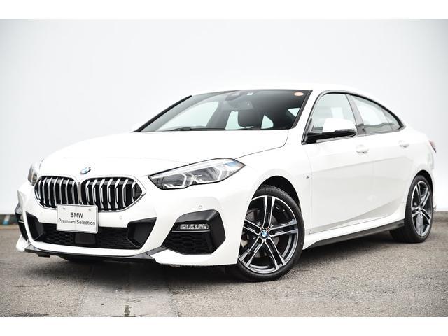 BMW 218iグランクーペ Mスポーツ I-driveナビ・リヤカメラ・前後PDC・コンフォートA・被害軽減ブレーキ・車線逸脱警告・ACC・パークアシスト・運転席パワーシート・純正18AW