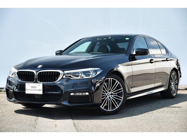 BMW 5シリーズ 540i Mスポーツ ワンオーナー・黒革・前後シートヒーターFクライメートシート・ソフトクローズドア・アダプティブサス・オートトランク・アダプティブLED・Dアシスト+・ガラスサンルーフ・TV・HIFIスピーカー・ドラレコ