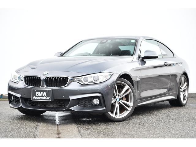 BMW 435iクーペ Mスポーツ ワンオーナー・黒革・フロントシートヒーター・ガラスサンルーフ・コンフォートアクセス・リヤカメラ・前後PDC・オートクルーズ・Dアシスト・TV・HUD・HIFIスピーカー・ドラレコ・純正19AW