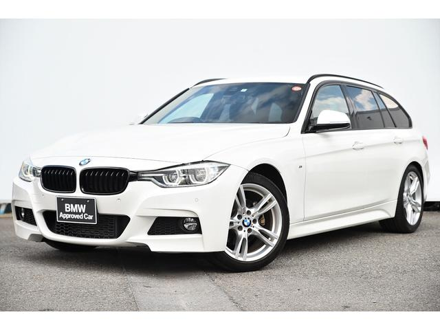 BMW 318iツーリング Mスポーツ コンフォートアクセス・Dアシスト・レーンチェンジワーニング・オートクルーズ・リヤカメラ・前後PDC・社外地デジTV・純正18AW