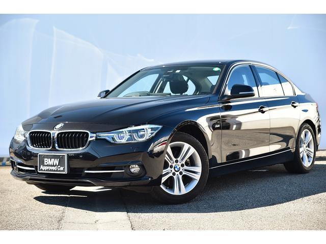 BMW 318iスポーツ 弊社販売ワンオーナー・リヤカメラ・リヤPDC・Dアシスト・レーンチェンジW・オートクルーズ・純正17AW