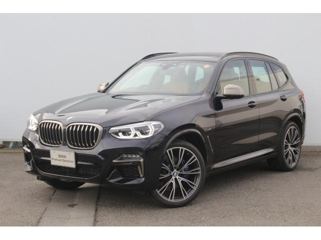 X3(BMW)M40i コニャックレザー・前後シートヒーター・パノラマサンルーフ・harman kardon・アダプティブMサス・Mデフ/ブレーキ/シートベルト・アダプティブLED・Dアシスト+・TV・HUD・純正21AW 中古車画像