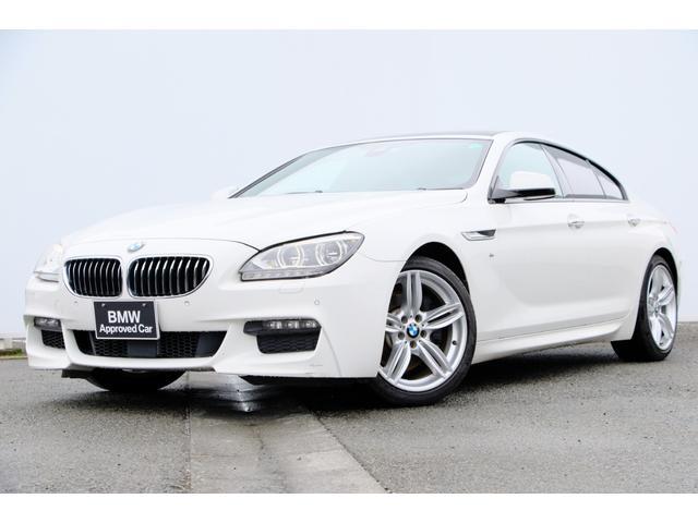 BMW 6シリーズ 640iグランクーペ Mスポーツ シナモンブラウンレザー・Fシートヒーター・電動ガラスサンルーフ・前後PDC・リヤカメラ・アダプティブLED・Dアシスト+・ACC・TV・HUD・・HIFIスピーカー・純正19AW