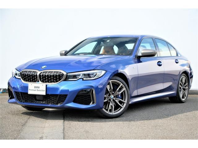 BMW 3シリーズ M340i xDrive コニャック革・Mスポーツブレーキ・Mデフ・アダプティブMサス・Mスポシート・Dアシストプロ・パークアシスト+・HUD・レーザーライト・harman kardon・ジェスチャーコントロール・純正19AW