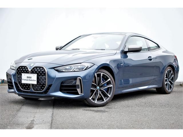 BMW 4シリーズ M440i xDriveクーペ コニャック革・Mスポーツブレーキ/デフ・アダプティブMサ・Dアシストプロ・レーザーライト・パークアシスト・TV・HUD・Mリヤスポイラー・harmankardon・BMWドラレコ・純正19AW