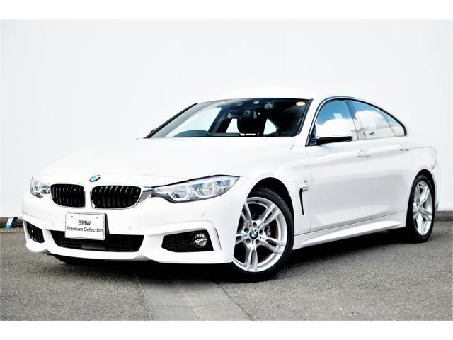 BMW 4シリーズ 420iグランクーペ Mスポーツ フロントシートヒーター・コンフォートアクセス・リヤカメラ・前後PDC・アダプティブLED・Dアシスト・レーンチェンジワーニング・ACC・HIFIスピーカー・地デジTV・ドラレコ・純正18AW