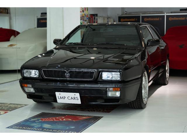 マセラティ ギブリ カップ ディーラー車 左ハンドル マニュアル6速 ブラック