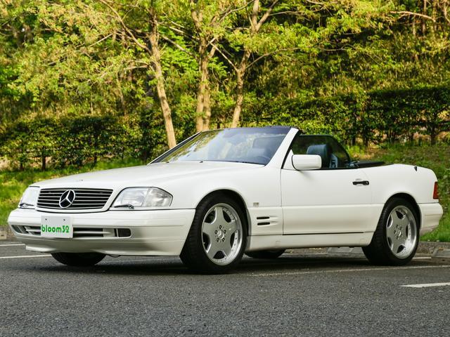 メルセデス・ベンツ SL500 左H D車 エアコン修理済み タイヤ新品交換