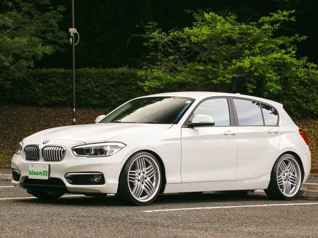 BMW 118i スタイル KW車高調 アルピナ19AW 外マフラー