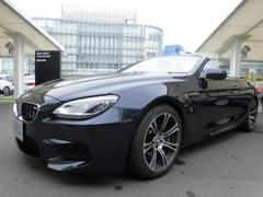 BMW M6カブリオレ  レザー シルバーストーン
