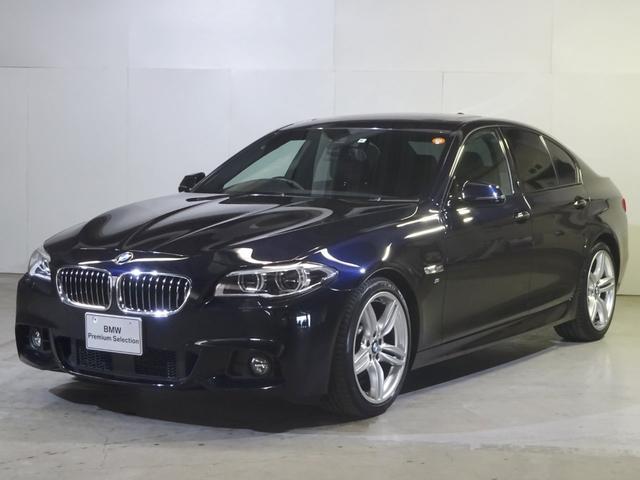 BMW 528i MスポーツLEDライトサンルーフACC黒革19AW